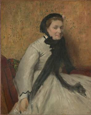 A Woman,  ca. 1865 (Edgar Degas) (1834-1917)   The Metropolitan Museum of Art, New York, NY      57.171