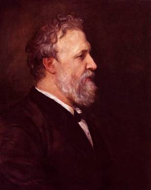 Robert Browning, 1866 (George Frederick Watts)    (1817-1904)  National Portrait Gallery, London     NPG 1001