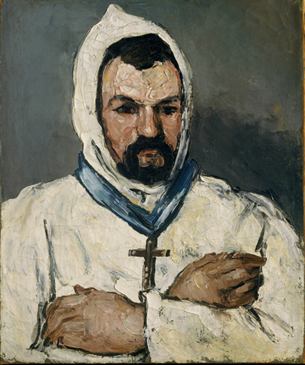 Antoine Dominique Sauveur Aubert as Monk, 1866 (Paul Cézanne) (1839-1906) M  The Metropolitan Museum of Art, New York, NY    1993.400.1