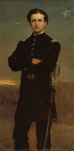 Lt. Huntington Frothingham Wolcott, 1867 (William Morris Hunt) (1824-1879)    Museum of Fine Arts, Boston, MA    67.76