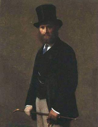 Edouard Manet, ca. 1867 (Henri Fantin-Latour) (1836-1904) The Art Institute of Chicago, IL