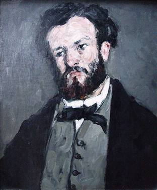 Anthony Valabregue, 1869 (Paul Cezanne) (1839-1906)  J. Paul Getty Museum, Los Angeles, CA