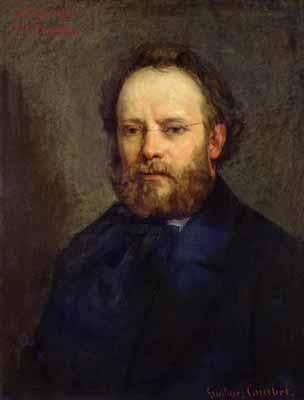 Pierre Joseph Proudhon, 1864 (Gustave Courbet) (1819-1877) Location TBD