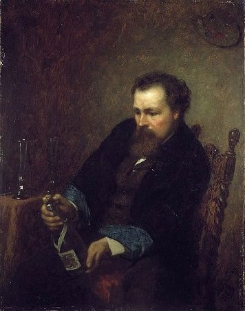 Self-Portrait, 1863 (Eastman Johnson) (1824-1906)   Art Institute of Chicago, IL,  1924.126