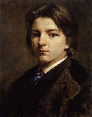 Self-Portrait, 1863 (Frank Holl) (1845-1888)   National Portrait Gallery, London   NPG 2531