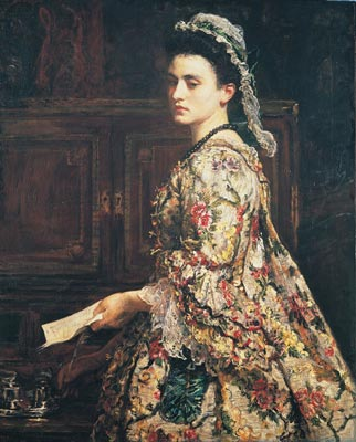 Vanessa, 1868 (John Everett Millais) (1829-1896)   Location TBD