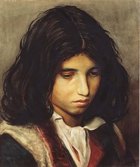 A Gypsy Boy, 1873 (Franz Defregger) (1835-1921) Location TBD