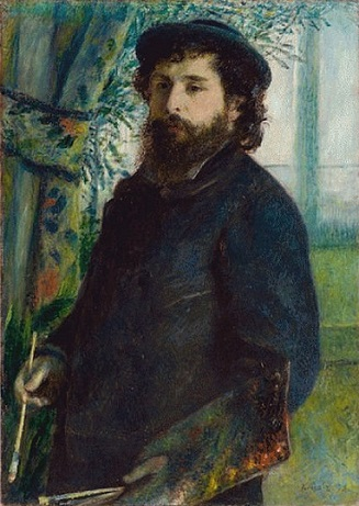 Claude Monet, 1875 (Pierre August Renoir) (1841-1919) Musée d'Orsay, Paris