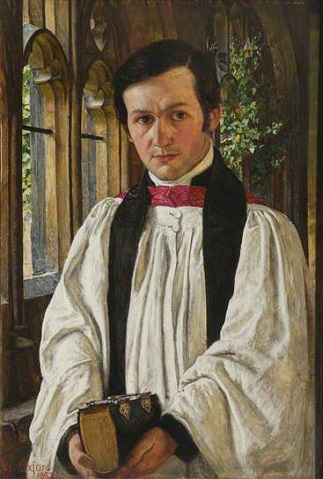 John David Jenkins, ca. 1870 (William Holman Hunt) (1827-1910) Jesus College, Oxford, UK