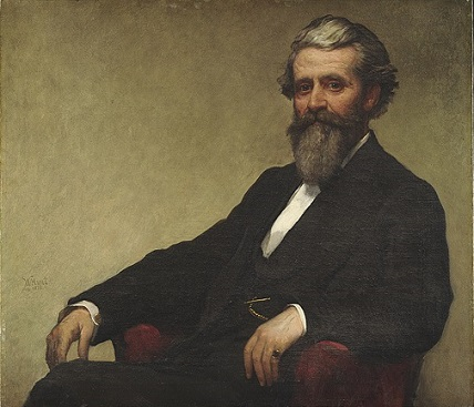 Judge John Lowell, 1872 (William Morris Hunt) (1824-1879) Harvard University Portrait Collection, Cambridge, MA