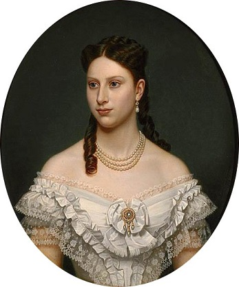 Louise Josephine Eugenie of Sweden, ca. 1870 (Amalia Lindegren) (1814-1891) Location TBD
