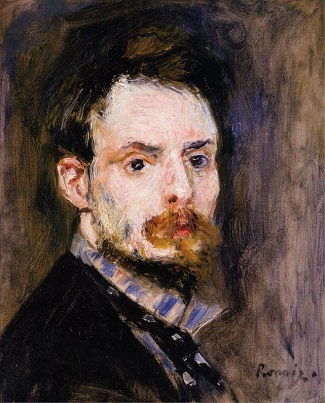 Self-Portrait, ca. 1875 (Pierre August Renoir) (1841-1919) Sterling and Francince Clark Art Institute, Williamstown, MA