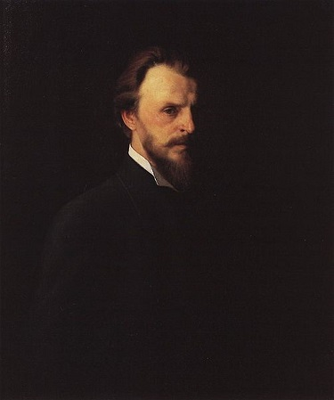 Self-Portrait, 1875 (Grigoriy Myasoyedov) (1834-1911) Location TBD