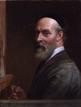 Self-Portrait, 1879 (Charles West Cope) (1811-1891) National Portrait Gallery, London, NPG 5321
