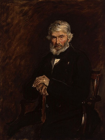 Thomas Carlyle, 1877 (Sir John Everett Millais) (1829-1896) National Portrait Gallery, London NPG 968