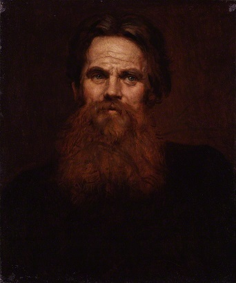 William Holman Hunt, ca. 1877 (Sir William Blake Richmond) (1842-1921) National Portrait Gallery, London, NPG 1901