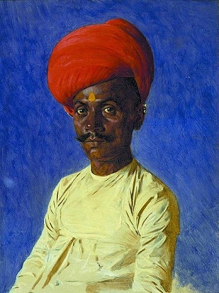A Banya Merchant from Mumbai, ca. 1875 (Vasily Vereshchagin) (1842-1904) Location TBD