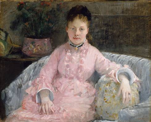 Albertie-Marguerite Carré, ca. 1870 (Berthe Morisot) (1841-1895) The Metropolitan Museum of Art, New York, NY 2003.20.8