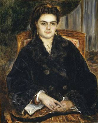 Marie-Octavie-Stéphanie Laurens, 1871 (Auguste Renoir) (1841-1919) The Metropolitan Museum of Art, New York, NY 51.200