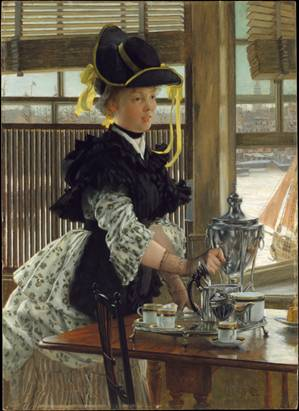 A Woman, 1872 (James-Jacques-Joseph Tissot) (1836-1902) The Metropolitan Museum of Art, New York, NY 1998.170