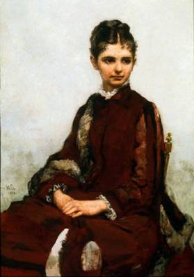 Miss Ida Mason, 1878 (William Morris Hunt) (1824-1879) Museum of Fine Arts, Boston, MA 32.127