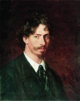 Self-Portrait, ca. 1878 (Ilya Repin) (1844-1930) Location TBD