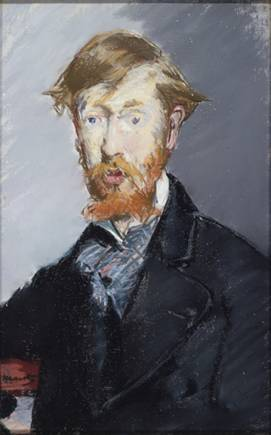 George Moore, ca. 1873-1879 (Édouard Manet) (1832-1883) The Metropolitan Museum of Art, New York, NY 29.100.55