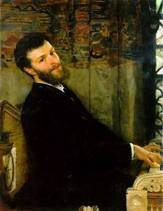 Sir George Henschel, ca. 1879 (Lawrence Alma-Tadema) (1836-1912) Location TBD