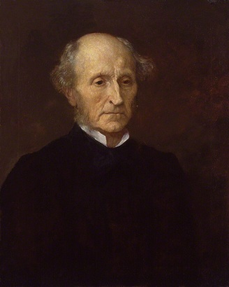 John Stuart Mill, 1873 (replica) (George Frederick Watts) (1817-1904) National Portrait Gallery, London, NPG 1009