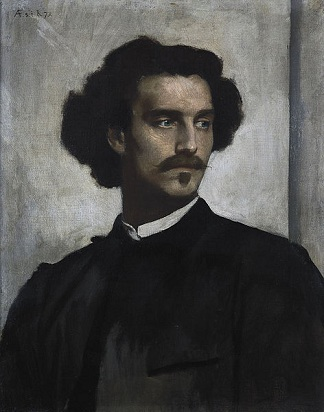 Self-Portrait, 1873 (1829-1880) Alte Nationalgalerie, Berlin Room, 2.05