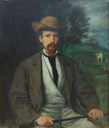 Self-Portrait, 1874 (Hans von Marées) (1837-1887) Alte Nationalgalerie, Berlin, Room 2.02