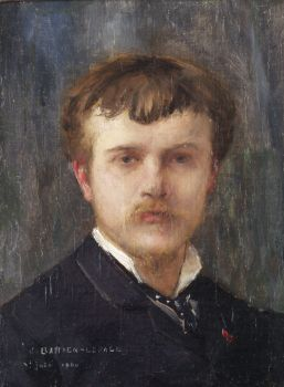 Self-Portrait, 1875 (Jules Bastien-Lepage) (1848-1884) Location TBD