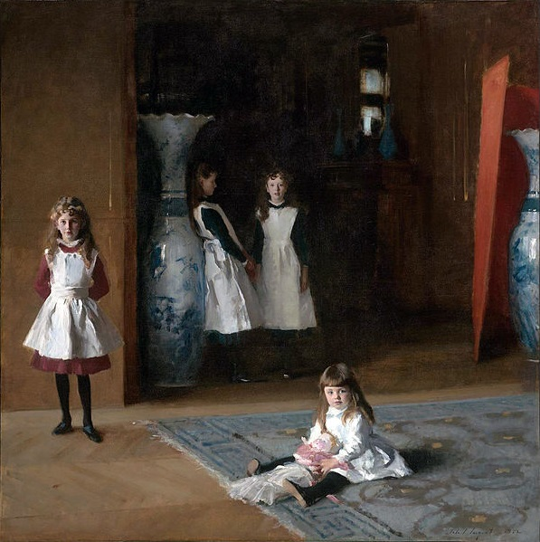 The Daughters of Edward Darley Boit, 1882 (John Singer Sargent) (1856-1925)  Museum of Fine Arts, Boston,  19.124