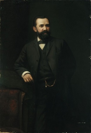 Colonel Guilford Wiley Wells, ca. 1886 (Albert Jenks) (1830-1901)  Los Angeles County Museum of Art, CA,  28.18.1