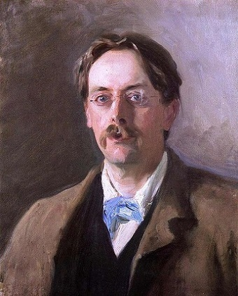 Edmund Gosse, 1886 (John Singer Sargent) (1856-1925)   National Portrait Gallery, London