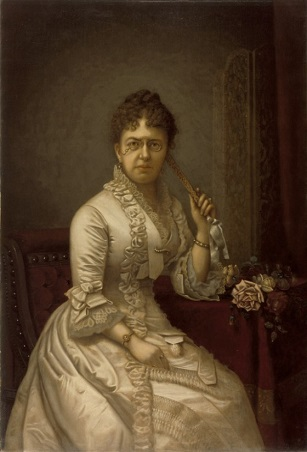 Mrs. Guilford Wiley Wells, ca. 1886 (Albert Jenks) (1830-1901) Los Angeles County Museum of Art, CA, 28.18.2