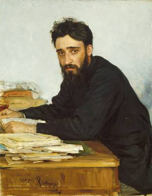 Vsevolod Mikhailovich Garshin at 29 years old, ca. 1884 (Ilya Repin) (1844-1930) The Metropolitan Museum of Art, New York, NY  1972.145.2