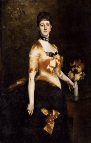 Edith Russell, Lady Playfair, 1884 (John Singer Sargent) (1856-1925) Museum of Fine Arts, Boston, MA 33.530