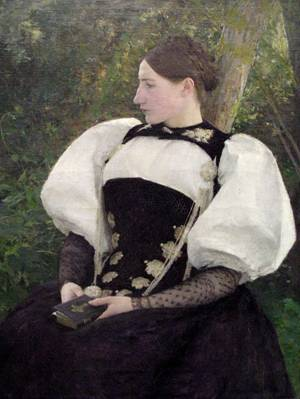 A Woman from Bern, Switzerland, by Pascal-Adolphe-Jean Dagnan-Bouveret