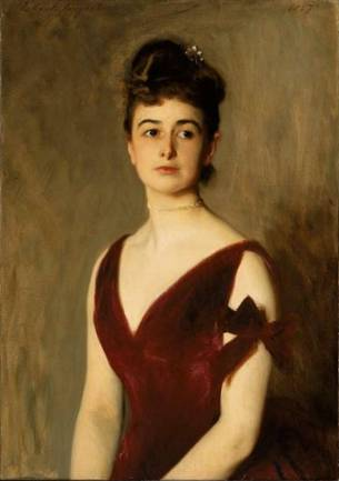 Mrs. Charles E. Inches (Louise Pomeroy), 1887 (John Singer Sargent) (1856-1925) Museum of Fine Art, Boston, MA 1991.926