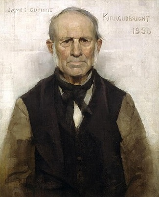 Old Willie, 1886 (James Guthrie) (1859-1930)  Glasgow City Council