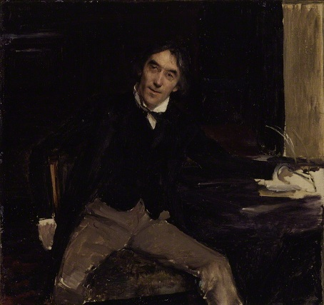 Sir Henry Irving, 1880 (Jues Bastien-Lepage) (1848-1884) National Portrait Gallery, London NPG 1560