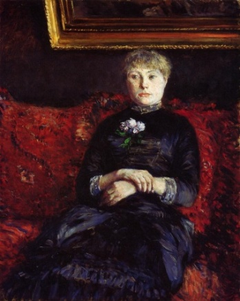 A Woman on a Sofa, 1882 (Gustave Caillebotte) (1848-1894) Seattle Art Museum, WA 91.12