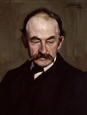Thomas Hardy, 1893 (William Strang) (1859-1921)  National Portrait Gallery, London,  NPG 2929