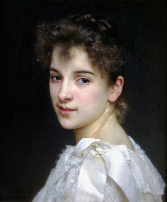Gabrielle Cot, 1890 (William-Adolphe Bouguereau) (1825-1905) Location TBD