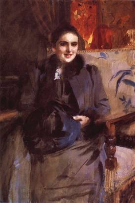 A Lady, ca. 1890 (Anders Zorn) (1860-1920) Location TBD