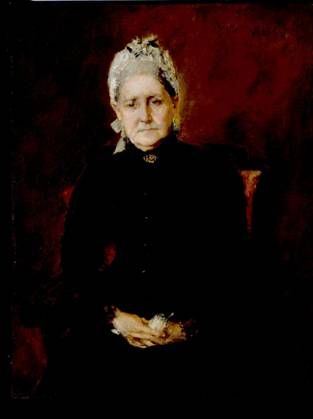 Sarah Swaim Chase, the artist's mother, 1892 (William Merritt Chase) (1849-1916) Indianapolis Museum of Art, IN 49.65