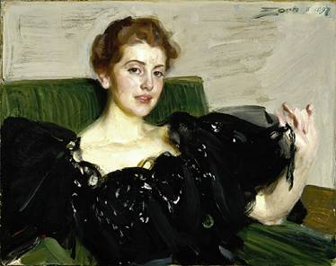 Mrs. Lucy Turner Joy, January 1st 1897 (Anders Zorn) St. Louis Art Museum, MO 97:1917