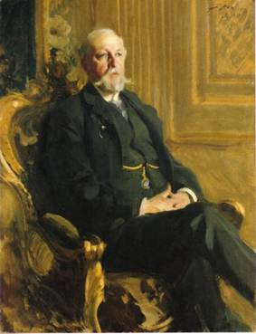 Oskar II, King of Sweden and Norway, ca. 1898 (Anders Zorn) (1860-1920) Location TBD