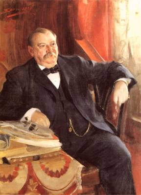 Grover Cleveland, ca. 1899 (Anders Zorn) (1860-1920) Location TBD